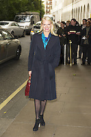 Anneka Rice, Children In Need - gala lunch, The Savoy Hotel, London UK, 27 October 2013, Photo by Raimondas Kazenas