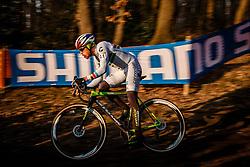 HYDE Stephen (USA) during the Men Elite race, UCI Cyclo-cross World Cup #8 at Hoogerheide, Noord-Brabant, The Netherlands, 22 January 2017. Photo by Pim Nijland / PelotonPhotos.com   All photos usage must carry mandatory copyright credit (Peloton Photos   Pim Nijland)