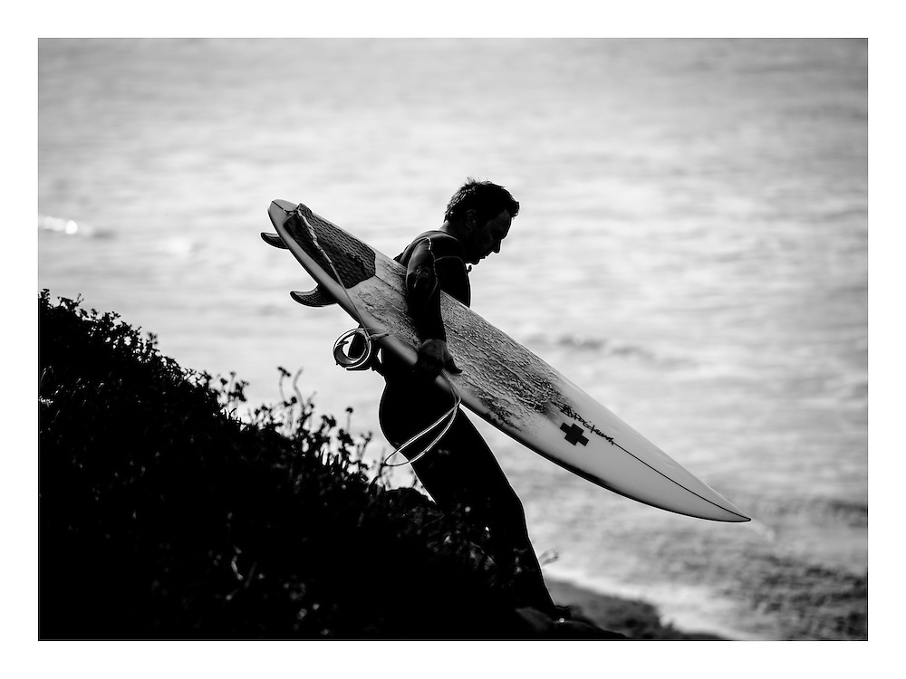 Surfer at Waddell Creek, CA | G Project Gear