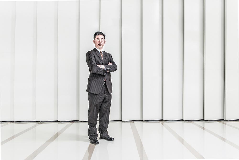 CHINA / Shanghai <br /> <br /> Ka Fai Chan, Financial Controll of Lloyd Register Shanghai Office <br /> <br /> &copy; Daniele Mattioli Shanghai China Corporate and Industrial Photographer  for APlus Magazine