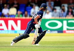 Natalie Sciver of England Women plays a shot through her legs - Mandatory by-line: Robbie Stephenson/JMP - 12/07/2017 - CRICKET - The County Ground Derby - Derby, United Kingdom - England v New Zealand - ICC Women's World Cup match 21
