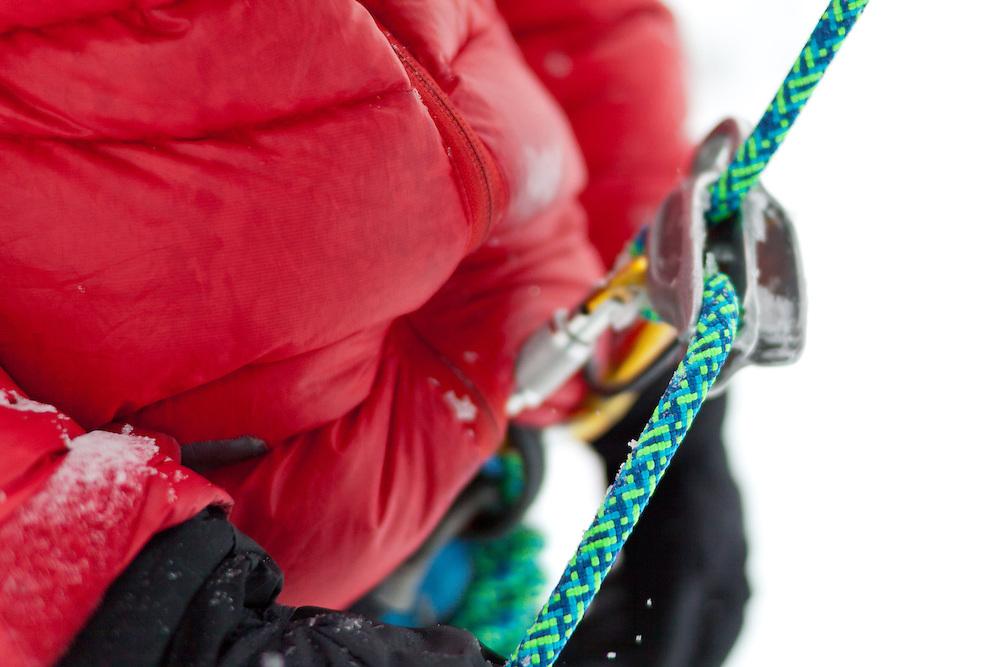 Ice Climbing R&D Kanaskis Alberta