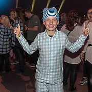 NLD/Amsterdam/20191115 - Chantals Pyjama Party in Ziggo Dome, jongen in pyama