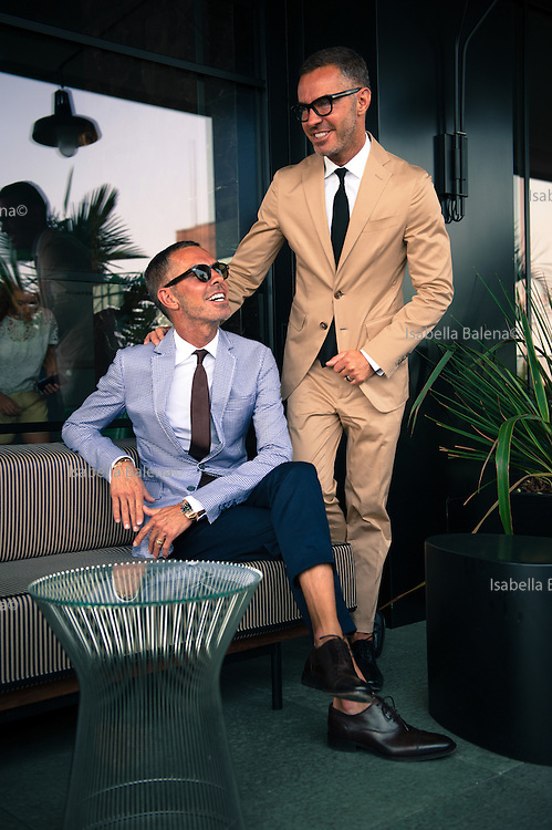 Dean and Dan Caten (born Dean and Dan Catenacci) are identical twin brothers, fashion designers, founders and owners of DSQUARED2, an international fashion house. MILAN, VIA CERESIO 7