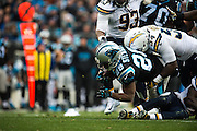 December 11, 2016: Carolina Panthers vs San Diego Chargers. Jonathan Stewart