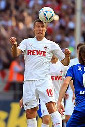 25.09.2011,  Rhein Energie Stadion, Koeln, GER, 1.FBL, 1. FC Koeln vs TSG Hoffenheim, im Bild.Lukas Podolski (Koeln #10)..// during the 1.FBL, 1. FC Koeln vs TSG Hoffenheim on 2011/09/25, Rhein-Energie Stadion, Köln, Germany. EXPA Pictures © 2011, PhotoCredit: EXPA/ nph/  Mueller *** Local Caption ***       ****** out of GER / CRO  / BEL ******