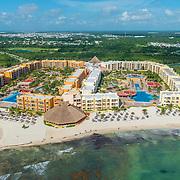 Aerial view of The Royal Haciendas. Riviera Maya. Quintana Roo, Mexico.