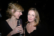 JULIET WILKINSON AND ANNE BIRRELL , Tom Cairns directs Almeida Fundraising Benefit sponsored by Coutts and Co. -A Chain Play by Samuel Adamson, Moira Buffini, David Hare, Charlotte Jones, Frank McGuinness and Roy Williams. Almeida theatre. London. 23 March 2007.  -DO NOT ARCHIVE-© Copyright Photograph by Dafydd Jones. 248 Clapham Rd. London SW9 0PZ. Tel 0207 820 0771. www.dafjones.com.