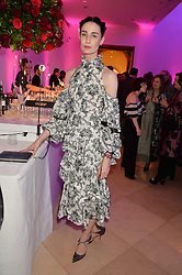 ERIN O'CONNOR at the Alexandra Shulman and Leon Max hosted opening of Vogue 100: A Century of Style at The National Portrait Gallery, London on 9th February 2016.