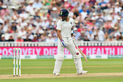 Where's the ball gone?  Virat Kohli (captain) of India looks around to see where the ball has gone during second day of the Specsavers International Test Match 2018 match between England and India at Edgbaston, Birmingham, United Kingdom on 2 August 2018. Picture by Graham Hunt.