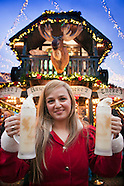 The Weihnachtsmarkt of Essen is one of the largest christmas markets in Germany