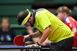 KNEUSS Valentin of Switzerland dissapointed at 14th Slovenia Open - Thermana Lasko 2017 Table Tennis Championships for the Disabled Factor 6, on May 9, 2017, in Dvorana Tri Lilije, Lasko, Slovenia. Photo by Matic Klansek Velej / Sportida