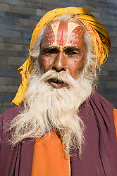 Aug. 22, 2012 - Hindu sadhu (Credit Image: © Image Source/ZUMAPRESS.com)