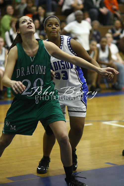 MCHS Varsity Girls Basketball.vs Greene.12/22/2007.
