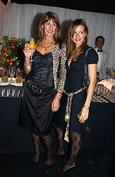 A party hosted by Mario Testino, Bianca Jagger and Kenneth Cole in collaboration with UNFPA and Marie Stopes International to celebrate the publication of Women to Woman: Positively Speaking - a book to raise awareness of women living with HIV/Aids, held at The Orangery, Kensington Palace, London on 2nd December 2004.<br />Picture shows:-Left to right, MRS KATE SIMON and her daughter MISS JESSICA SIMON.<br /><br />NON EXCLUSIVE - WORLD RIGHTS
