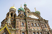 Church of the Savior on Spilled Blood, St. Petersburg, Russia.