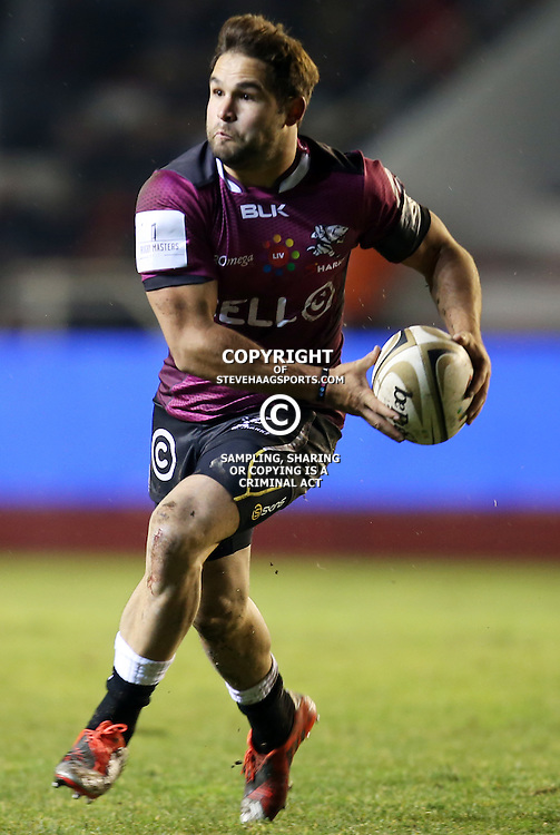 TOULON, FRANCE - FEBRUARY 05: Cobus Reinach of the Cell C Sharks during the Super Rugby warm up match between Toulon and Cell C Sharks at Stade Mayol on February 05, 2015 in Toulon, France. (Photo by Steve Haag/Gallo Images)
