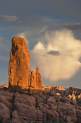 Marching Men in the Klondike Hills, Arches National Park, Utah