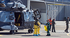 Wellington-RNZAF chopper transported a nurse with Ebola symptoms