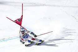 March 16, 2019 - El Tarter, Andorra - Thomas Fanara of France Ski Team, during Ladie's Giant Slalom Audi FIS Ski World Cup race, on March 16, 2019 in El Tarter, Andorra. (Credit Image: © Joan Cros/NurPhoto via ZUMA Press)