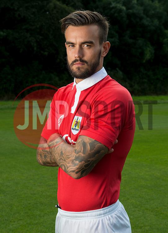 Bristol City's Marlon Pack  - Photo mandatory by-line: Joe Meredith/JMP - Mobile: 07966 386802 05/08/2014 - SPORT - FOOTBALL - Bristol - Ashton Gate - Press Day