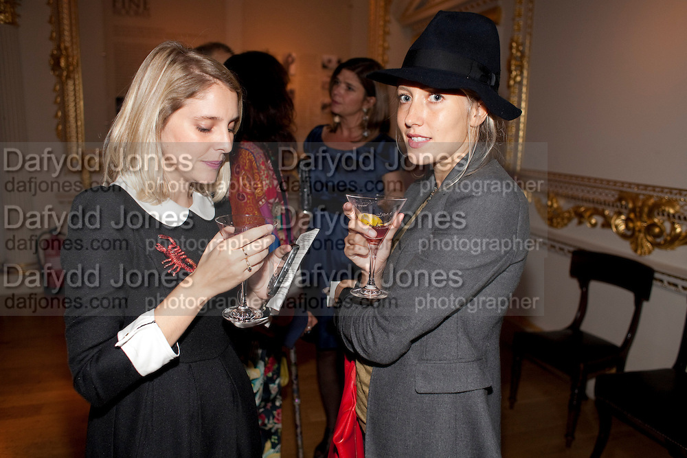 KRISTINA MACLEAN; SOPHIE DOLAN, ROYAL ACADEMY CONTEMPORARY CIRCLE FUNDRAISING EVENT. Royal Academy. Piccadilly. London. 30 September 2010. -DO NOT ARCHIVE-© Copyright Photograph by Dafydd Jones. 248 Clapham Rd. London SW9 0PZ. Tel 0207 820 0771. www.dafjones.com.