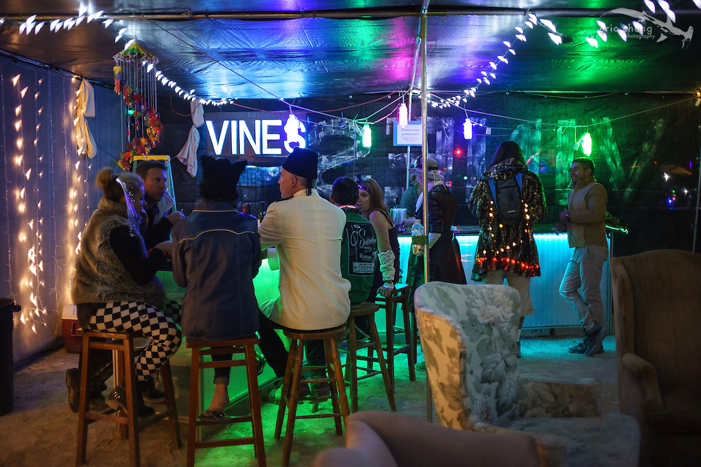 Vines Without Borders at 4:45 & Darjeeling. Burning Man 2014