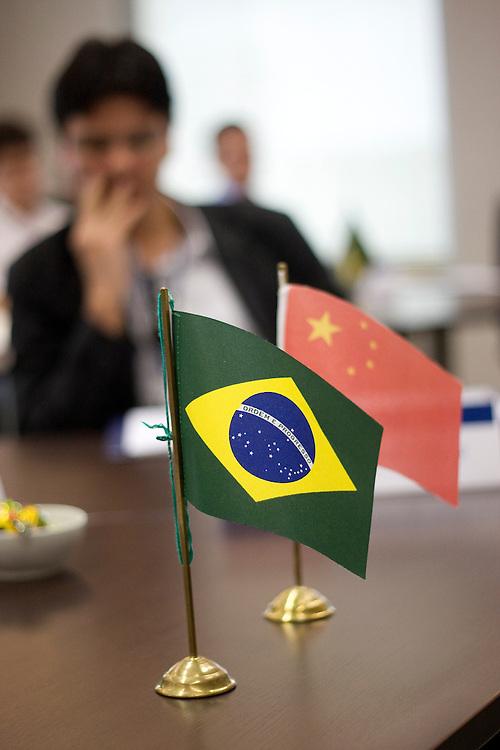 Sao Paulo_SP, Brasil...Programa China, curso aberto de formacao empresarial...China Program, business training course...Foto: MARCUS DESIMONI / NITRO