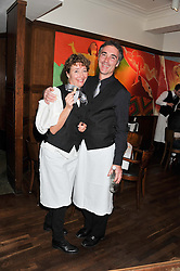 EMMA THOMPSON and GREG WISE at One Night Only at The Ivy held at The Ivy, 1-5 West Street, London on 2nd December 2012.