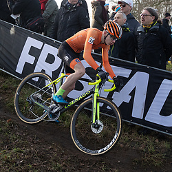 26-01-2020: Wielrennen: Wereldbeker Veldrijden: Hoogerheide <br />Bailey Groenendaal