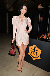 Betty Bachz at the Veuve Clicquot Widow Series launch party curated by Carine Roitfeld and CR Studio held at Islington Green, London England. 19 October 2017.