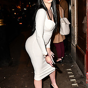 Liliana Dibblee with an amazing million bucks buttock attend TMA Talent Management Group host launch party for their new dating app, The List at 100 Wardour Street  on 3rd April 2019, London, UK.