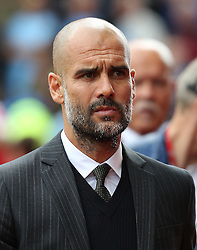 Manchester City manager Pep Guardiola  - Mandatory by-line: Matt McNulty/JMP - 20/08/2016 - FOOTBALL - Bet365 Stadium - Stoke-on-Trent, England - Stoke City v Manchester City - Premier League