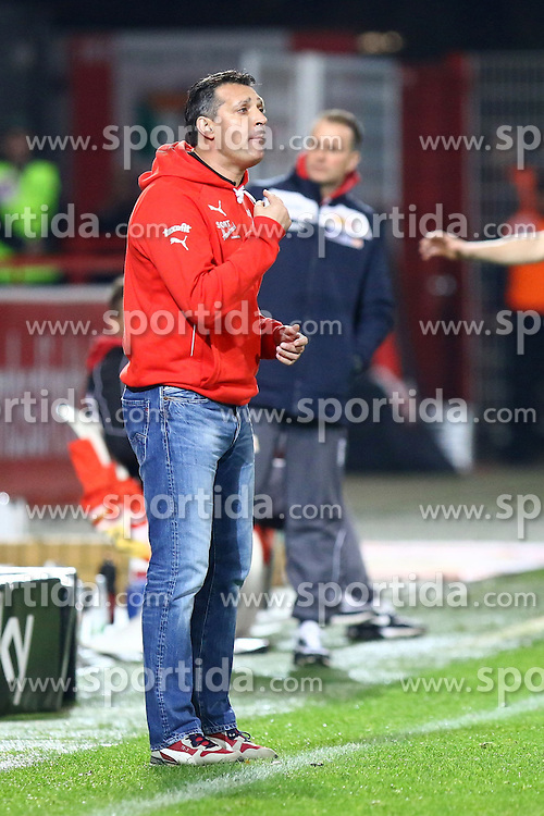 18.12.2015, Alte Foersterei, Berlin, GER, 2. FBL, 1. FC Union Berlin vs SV 1916 Sandhausen, 19. Runde, im Bild Cheftrainer Alois Schwartz (SV Sandhausen) // during the 2nd German Bundesliga 19th round match between 1. FC Union Berlin and SV 1916 Sandhausen at the Alte Foersterei in Berlin, Germany on 2015/12/18. EXPA Pictures &copy; 2015, PhotoCredit: EXPA/ Eibner-Pressefoto/ Hundt<br /> <br /> *****ATTENTION - OUT of GER*****