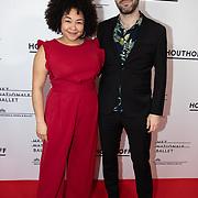 NLD/Amsterdam/20200206 - Ballet premiere Frida, Naomi van der Linden en partner