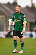Scunthorpe United Forward, Paddy Madden (9) during the EFL Sky Bet League 1 match between Bristol Rovers and Scunthorpe United at the Memorial Stadium, Bristol, England on 25 February 2017. Photo by Adam Rivers.