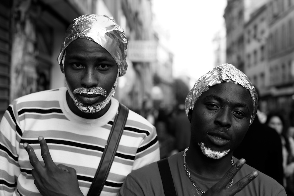 Space cowboys, Paris