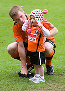 Paul Dixon and Niece - Dundee United v Hearts, Clydesdale Bank Scottish Premier League at Tannadice Park..© David Young Photo.5 Foundry Place.Monifieth.Angus.DD5 4BB.Tel: 07765252616.email: davidyoungphoto@gmail.com.http://www.davidyoungphoto.co.uk
