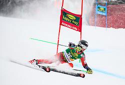 Rasmus Windingstad of Norway competes during 1st run of Men's GiantSlalom race of FIS Alpine Ski World Cup 57th Vitranc Cup 2018, on March 3, 2018 in Kranjska Gora, Slovenia. Photo by Ziga Zupan / Sportida