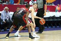 September 2, 2017 - °Stanbul, Türkiye - Eurobasket 2017 D Grubu 2 Eylül maçında Letonya ile Belçika karşı karşıya geldi. (Credit Image: © Depo Photos via ZUMA Wire)