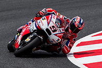 Danilo Petrucci of Italy and Osto Pramac Raciong Team rides during free practice for the MotoGP of Catalunya at Circuit de Catalunya on June 9, 2017 in Montmelo, Spain.(ALTERPHOTOS/Rodrigo Jimenez)