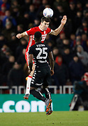Daniel Ayala of Middlesbrough  during the EFL Sky Bet Championship match between Middlesbrough and Leeds United at the Riverside Stadium, Middlesbrough, England on 2 March 2018. Picture by Paul Thompson.