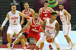 September 17, 2018 - Gdansk, Poland - A.J. Slaughter (6) of Poland in action against Rok Stipcevic (6) of Croatia is seen in Gdansk, Poland on 17 September 2018  Poland faces Croatia during the Basketball World Cup China 2019 Qualifiers game in the ERGO Arena sports hall in Gdansk  (Credit Image: © Michal Fludra/NurPhoto/ZUMA Press)