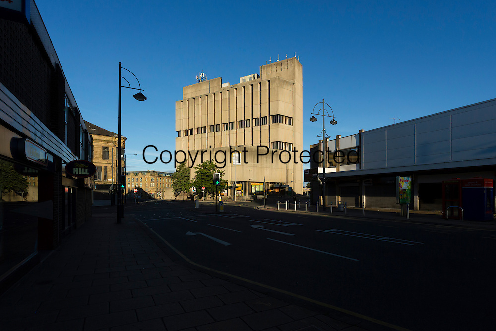 High Point, in Westgate, Bradford, was built in the 1970s, and was formerly headquarters of the Yorkshire Building Society. It is the best example of brutalist architecture in Bradford.