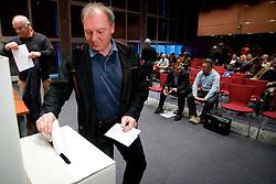 Elections for Alpine Ski president of Slovenian Ski Federation, on April 7, 2010, in Ljubljana, Slovenia.  (Photo by Vid Ponikvar / Sportida)