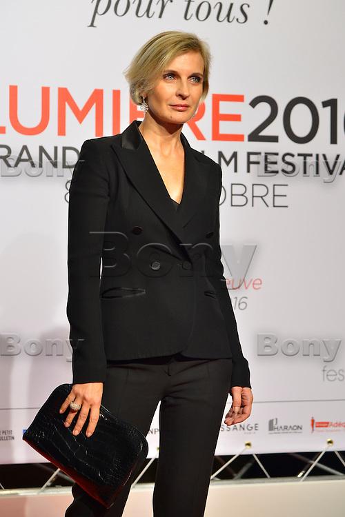Melita Toscan du Plantier<br /> Lyon 8 oct 2016 - Festival Lumi&egrave;re 2016 - C&eacute;r&eacute;monie d&rsquo;Ouverture<br /> 8th Film Festival Lumiere In Lyon : Opening Ceremony