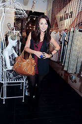 LOUISA LYTTON at a party to celebrate the opening of the new Mina Store at 36-38 Great Titchfield Street, London W1W 8BQ on 9th September 2010.  The party was sponsored by Ivan the Terrible Vodka.