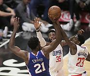 Clippers v 76ers - 13 Nov 2017