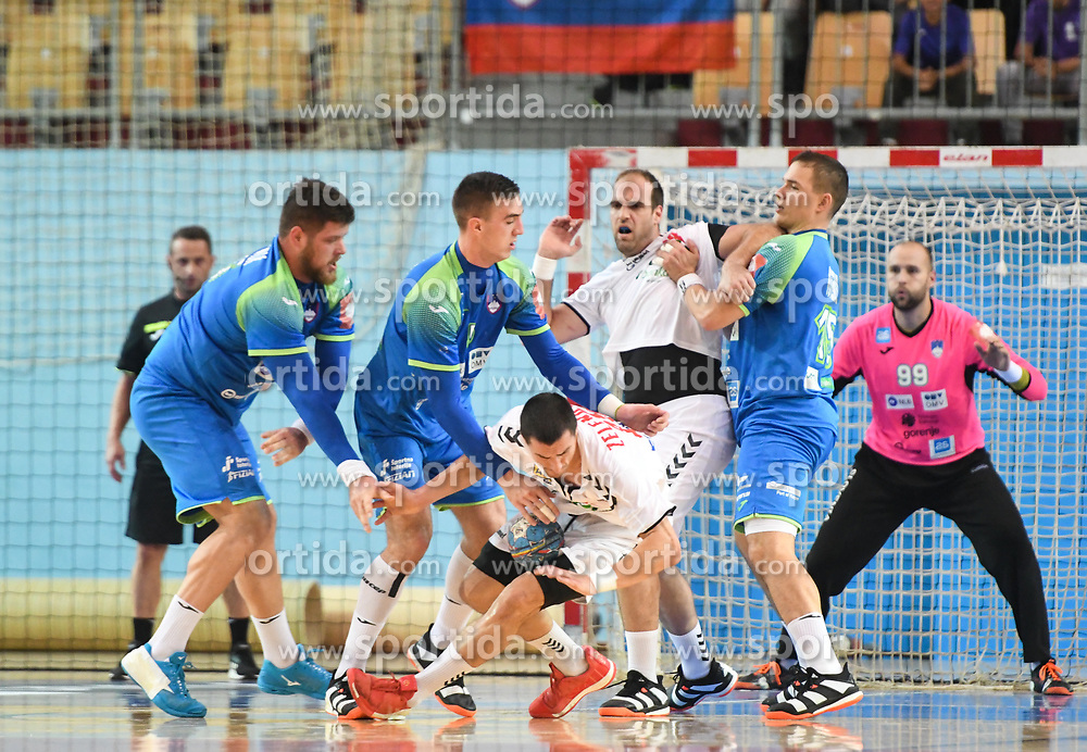 Nemanja Zelenovic of Serbia during friendly handball match between Slovenia and Srbija, on October 27th, 2019 in Športna dvorana Lukna, Maribor, Slovenia. Photo by Milos Vujinovic / Sportida