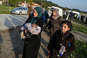 February 29, 2016 - Mytilene, Greece - <br /> <br /> Migrants on February 29, 2016 in Mytilene on the nortern island of Lesbos as refugees and migrants arrive after crossing the Aegean sea from Turkey.<br /> ©Exclusivepix Media